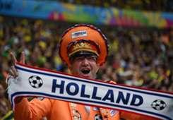 Netherlands fan Brazil Netherlands 2014 World Cup third-place playoffBrazil Netherlands 2014 World Cup third-place playoff