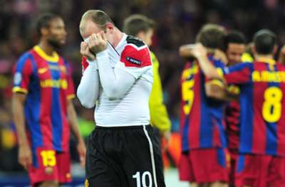 Wayne Rooney - Barcelona vs Manchester United UEFA Champions League 2011