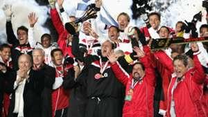 Rogerio Ceni Joseph Blatter Sao Paulo FIFA Club World Cup 2005 18122005