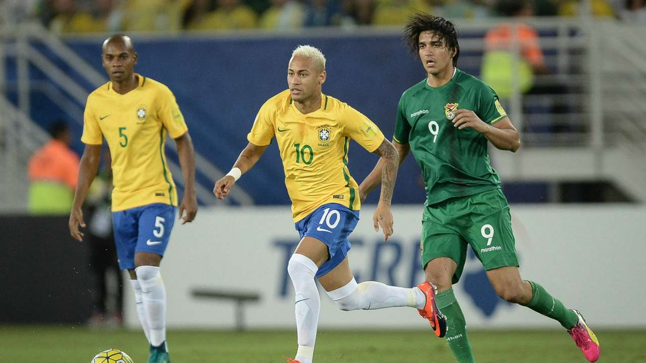 Neymar Brasil x Bolívia 061016