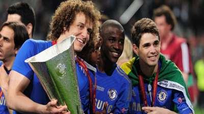 David Luiz, Ramires Oscar Chelsea 17052016