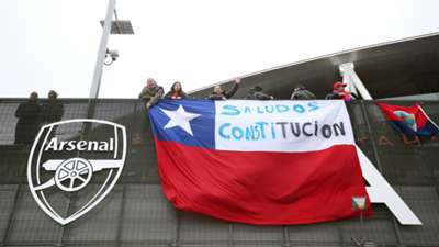 Chilean fans Brazil Chile Intl Friendly 29032015