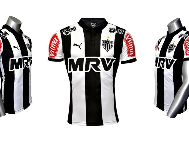 Site Do Atletico Mg Vaza Nova Camisa Principal Goal Com