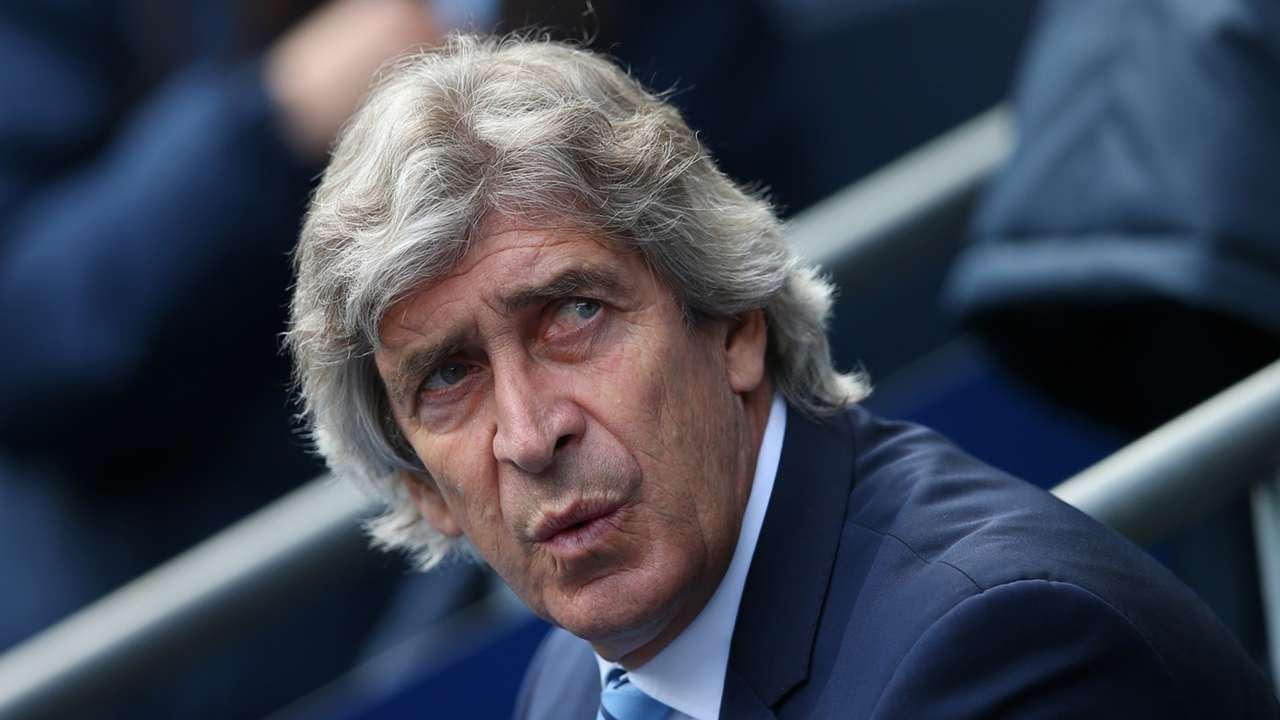 Manuel Pellegrini Manchester City Stoke City Premier League 23042016