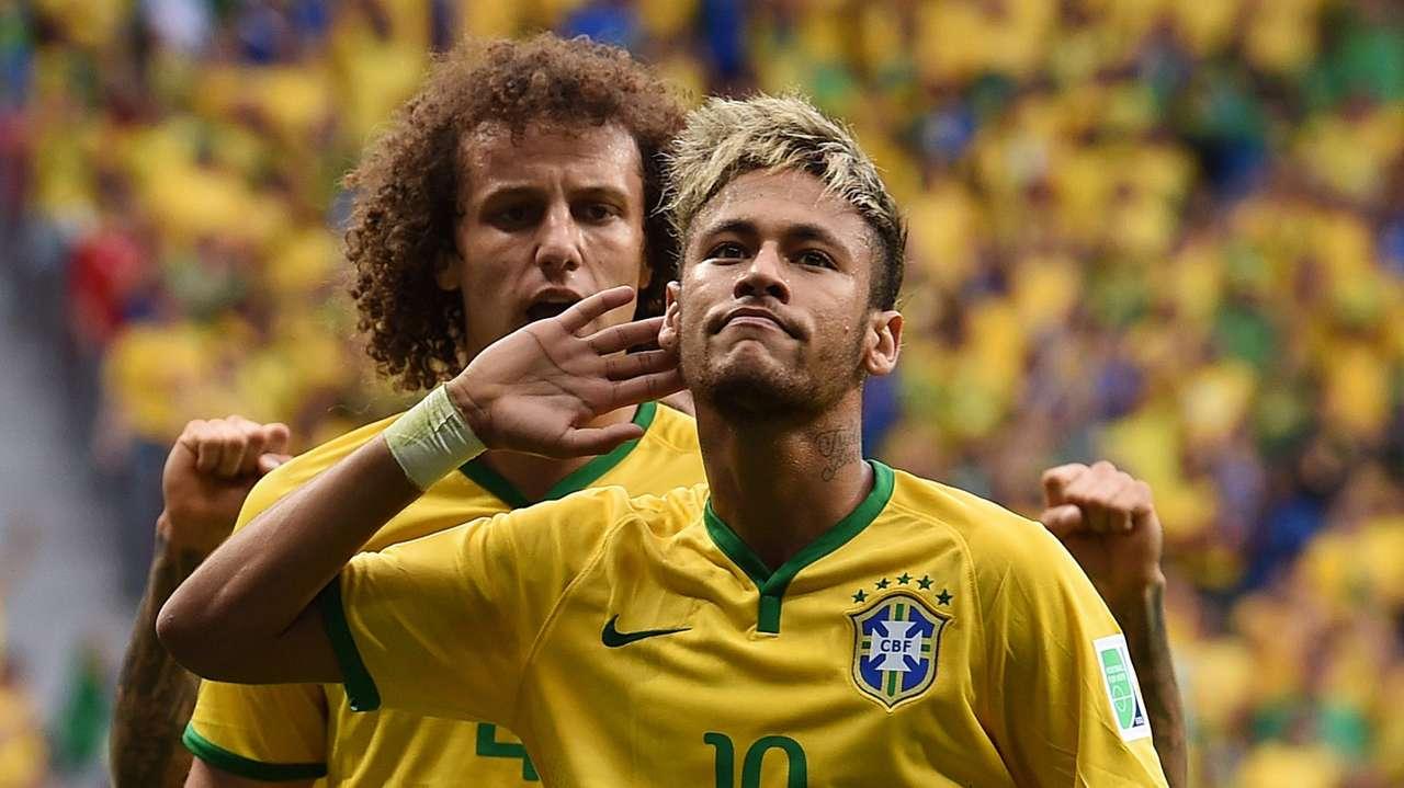 David Luiz e Neymar - Brasil