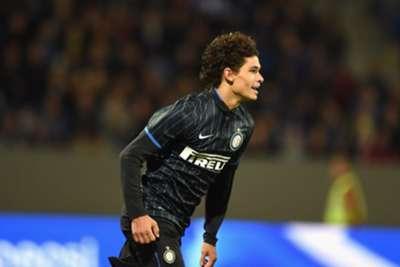 Dodo of FC Inter Milan celebrates during the UEFA Europa League