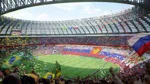 Luzhniki Stadium Moscow Artwork 2018 World Cup Russia