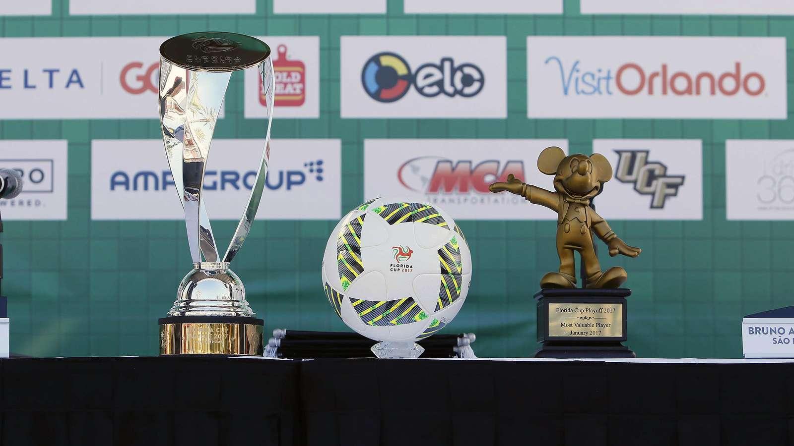 Florida Cup: times, jogo e transmissões; confira tudo sobre o torneio