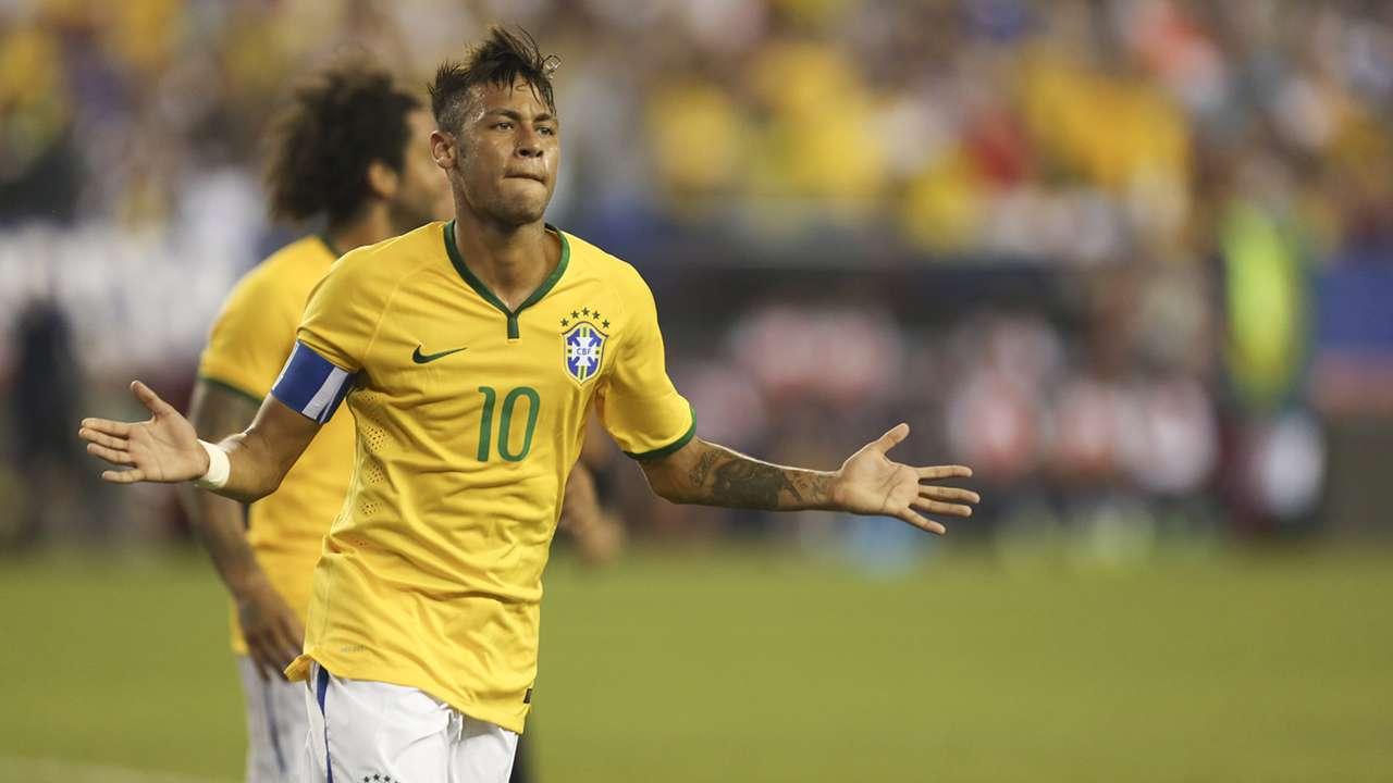 Neymar USA Brazil Friendly 08092015