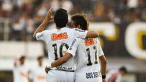 Neymar e Ganso - Santos 2011