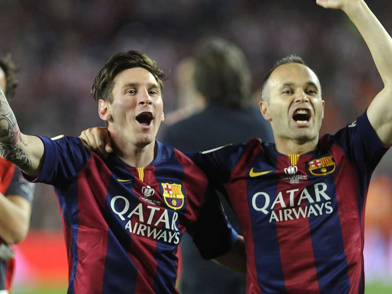 Iniesta: Playing with Messi a privilege