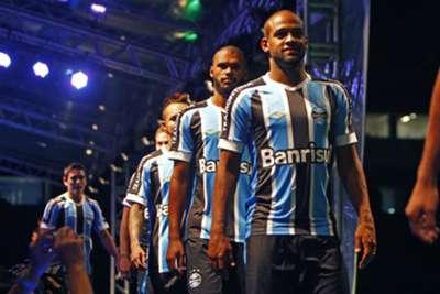 Apresentação camisa Grêmio 09012015