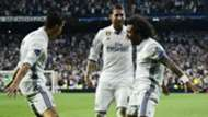 Marcelo Cristiano Ronaldo Sergio Ramos Real Madrid Bayern Munich UCL 18042017