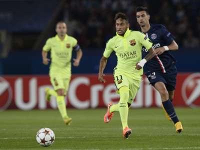 GALLERY ONLY gols de Neymar na UCL