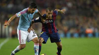 Daniel Alves | Barcelona 0-1 Celta de Vigo | La Liga | Camp Nou | 01112014