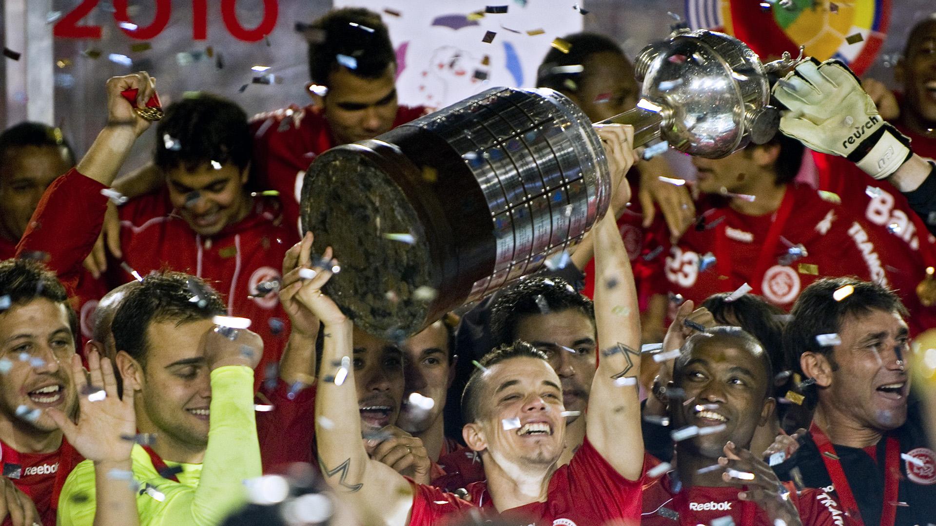 2010 D'alessandro Internacional campeão Copa Libertadores