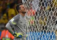 Julio Cesar Brazil Germany 2014 World Cup 07082014