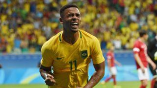 Gabriel Jesus Denmark Brazil Rio 2016 Olympics 10082016