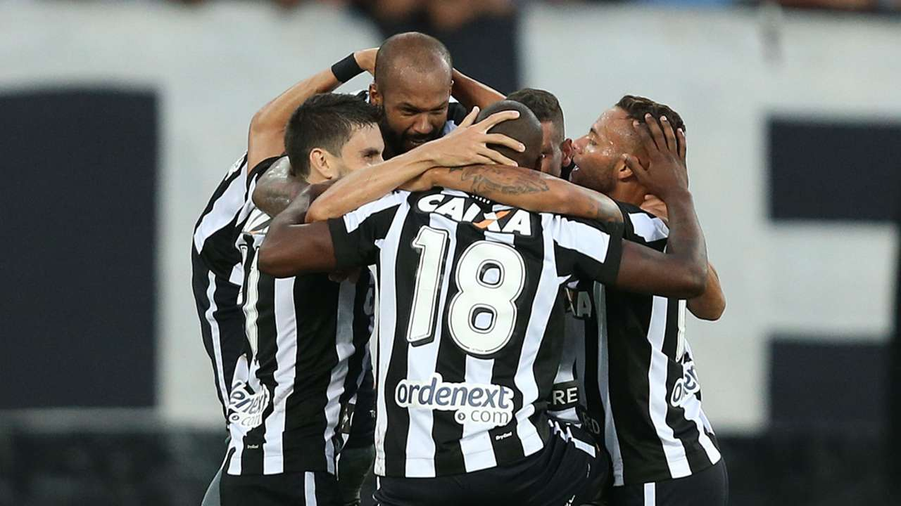 Botafogo jogadores 02 04 2017