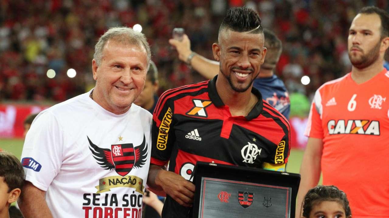 Despedida do Léo Moura - Flamengo x Nacional/URU - 04/03/2015