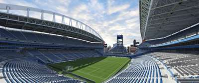 GALLERY ONLY CenturyLink Field (Seattle Sounders FC, Major League Soccer)