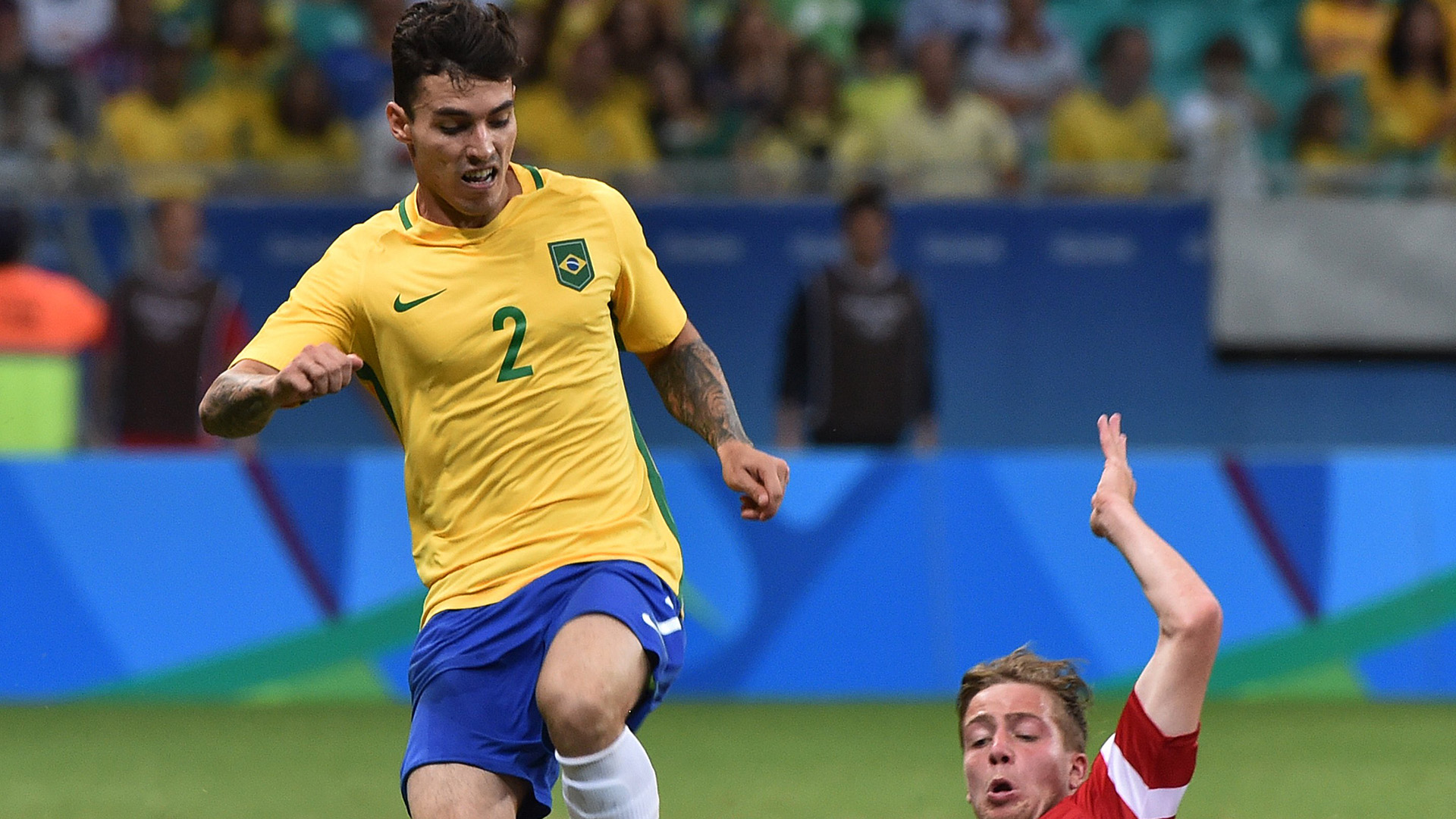 Zeca Denmark Brazil Rio 2016 Olympics 10082016