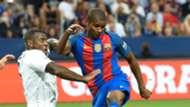 Marlon Danny Simpson Barcelona Leicester ICC 03082016