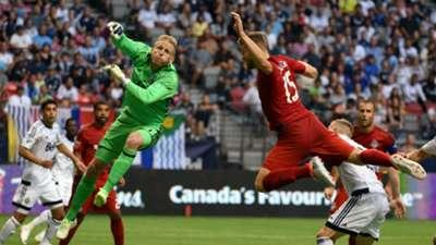 David Ousted Eriq Zavaleta Vancouver Whitecaps Toronto FC Canadian Championship 20160629
