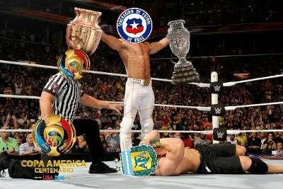 Los memes de Chile Bicampeón