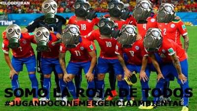 Memes Chile Uruguay