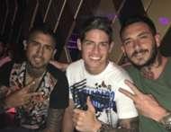 Vidal, Pinilla y James