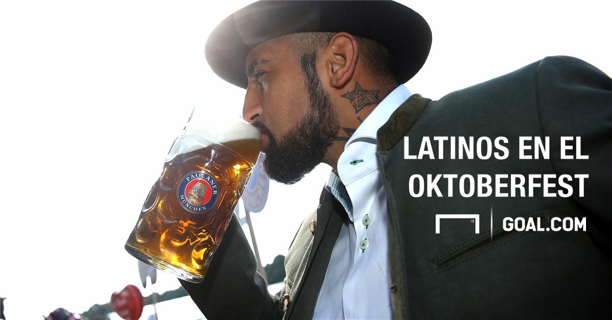 Los latinos en el Oktoberfest