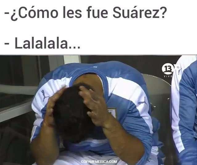 Los memes de la derrota charrúa frente a Venezuela