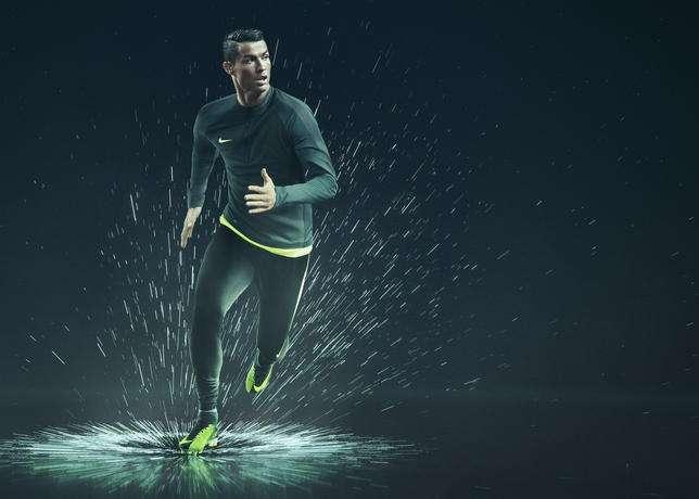 En Ciudad de México se presentó el nuevo zapato de Cristiano Ronaldo.