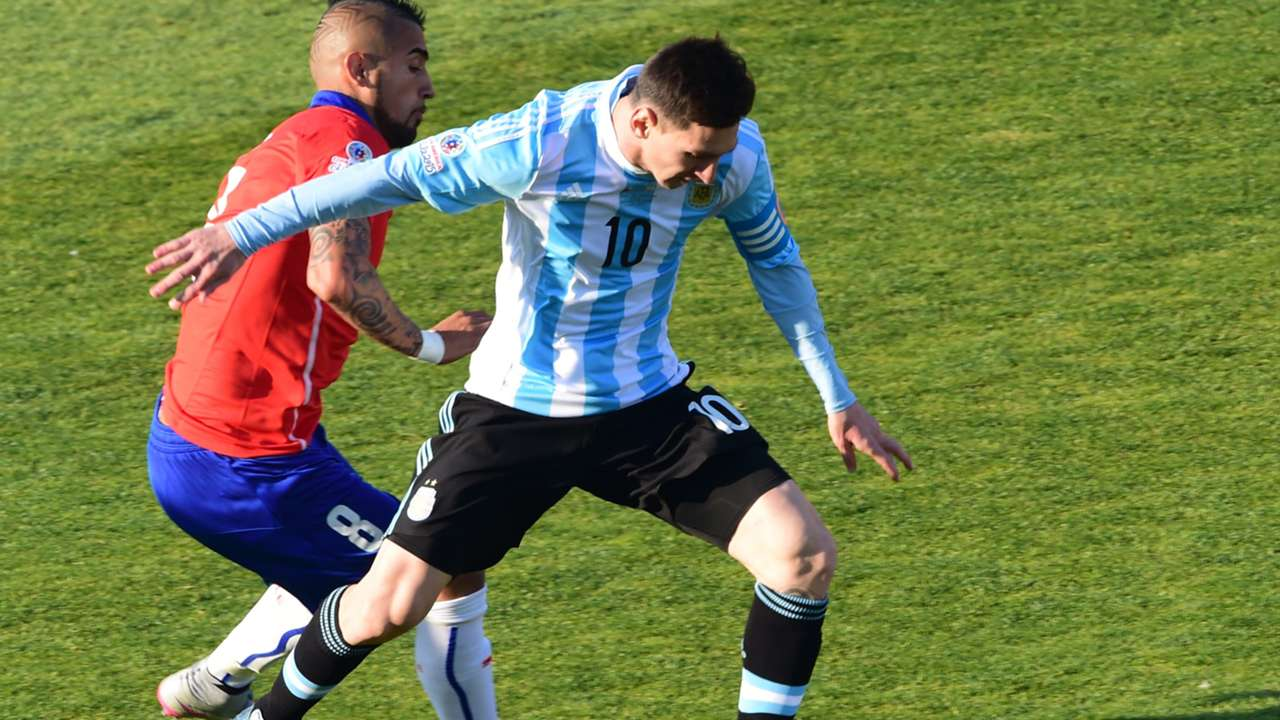 Chile vs. Argentina - selección chilena