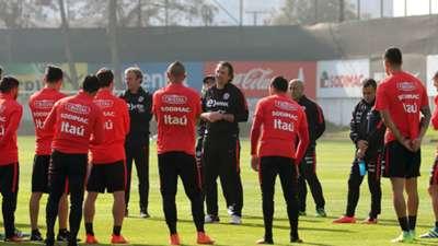La Roja se prepara con miras a los duelos por Clasificatorias