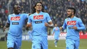 Pablo Armero Edinson Cavani Lorenzo Insigne Napoli Parma Seria A 27012013