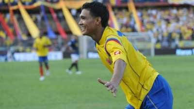 Primer gol el 06 de agosto de 2009 - Amistoso Internacional Colombia 2 El Salvador 1