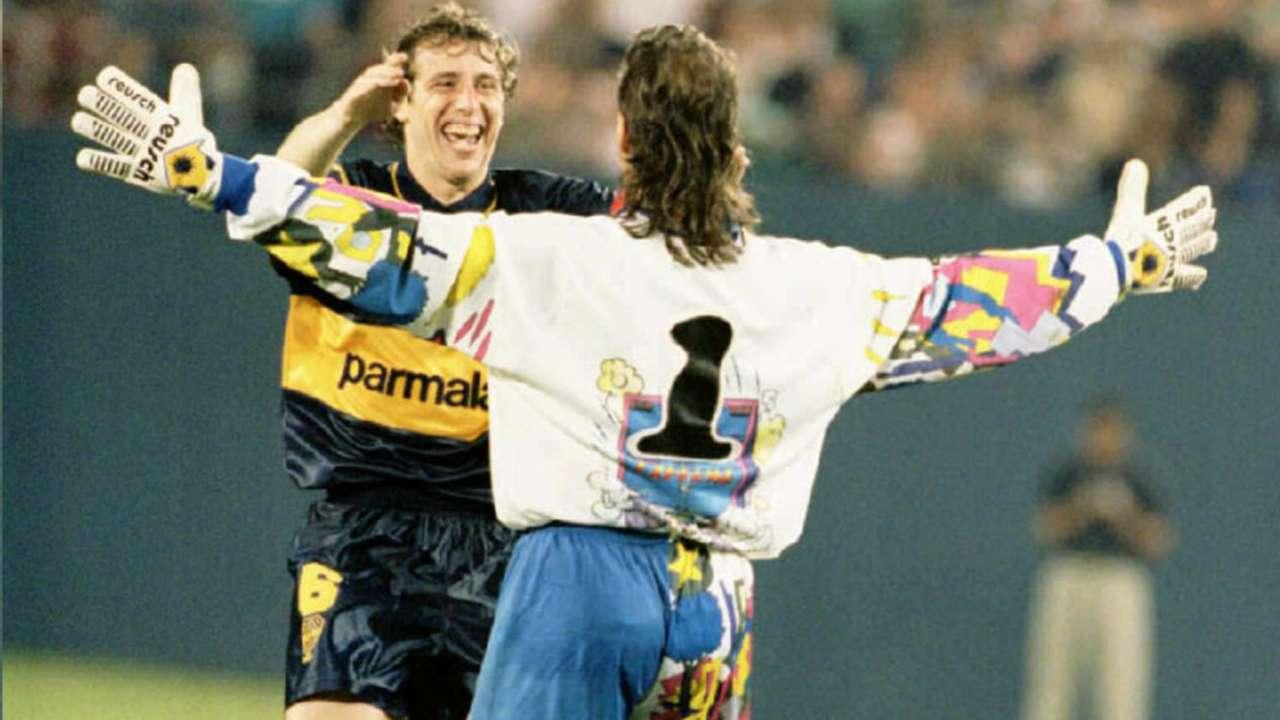 Carlos Navarro Montoya colombo argentino - Boca Juniors 1988-1996