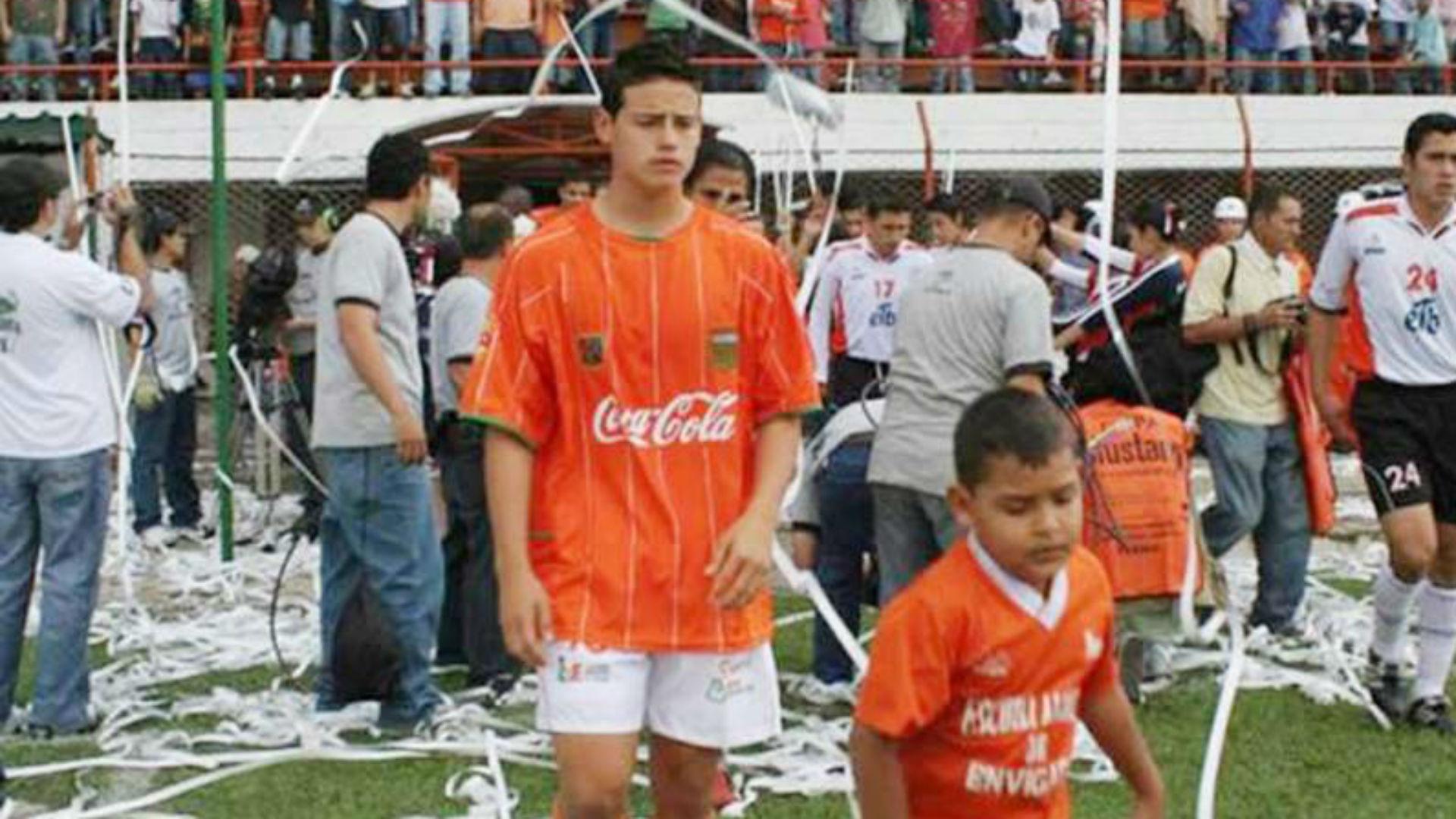 James Rodríguez Niño en Envigado