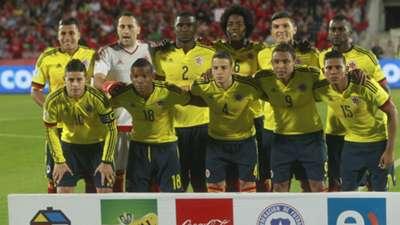 Selección Colombia vs Chile 2015