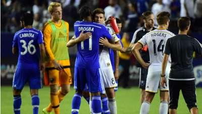 Didier Drogba Steven Gerrard