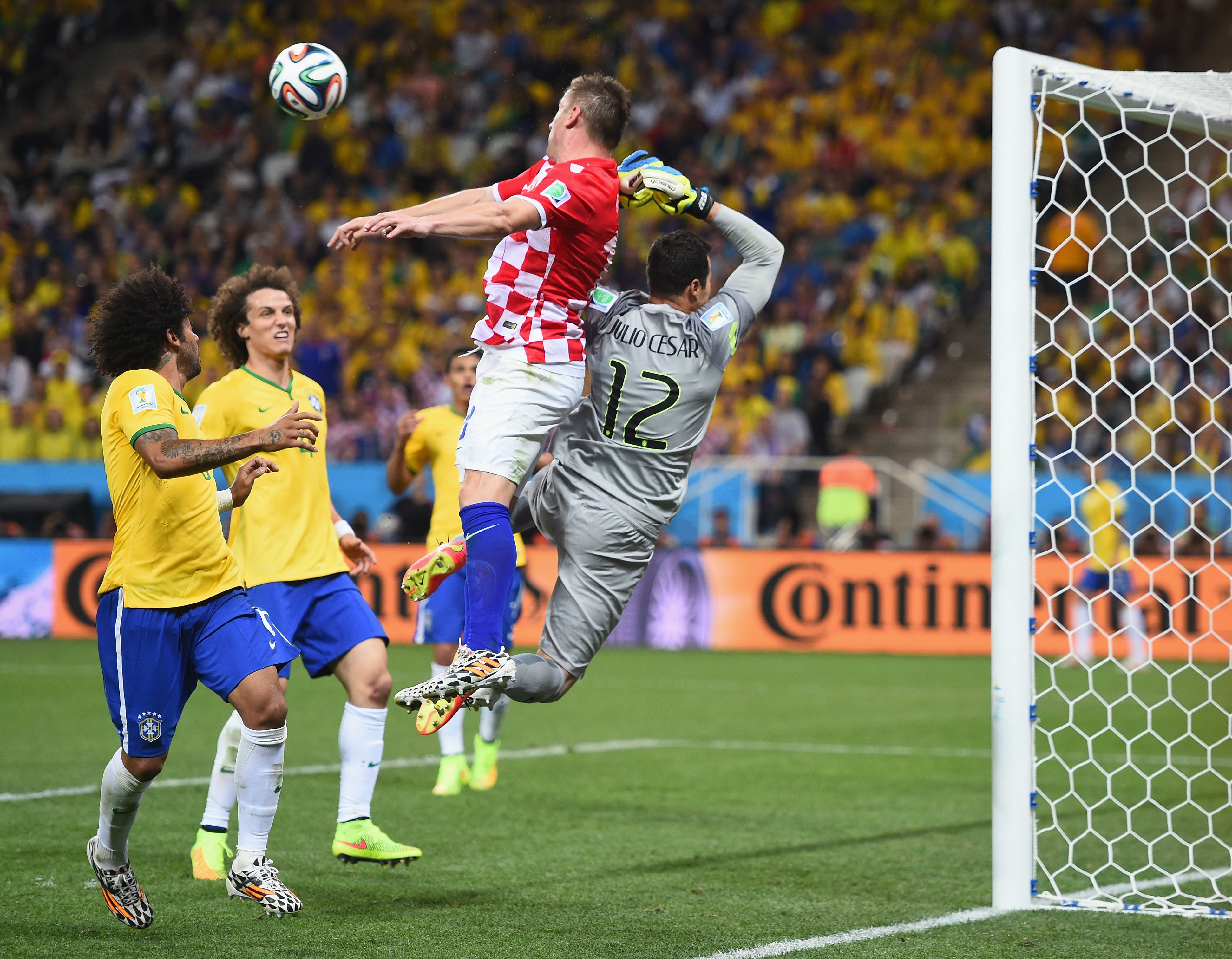 ivica olic - brazil 3 croatia 1 - world cup 2014