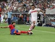 hossam ghaly - mahmoud kahraba - Al Ahly vs Zamalek  Egyptian Super Cup 15-10-2015