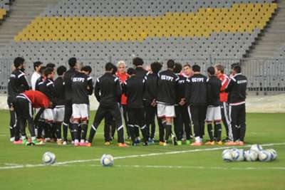 Egyptian team training