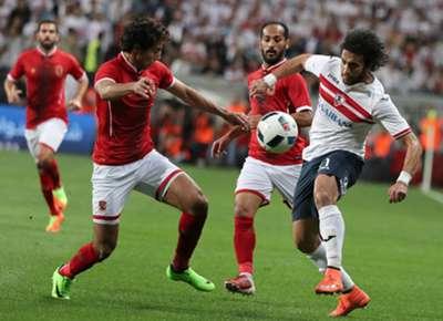 Ahly- Zamalek Egyptian Super Cup