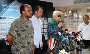 Murtada Mansour - Momen Soliman - Ismail Yousef - Mohamed Salah - Zamalek