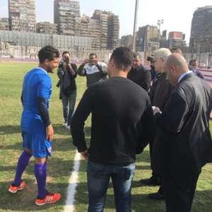 Tareq Hamed - Murtada Mansour - Zamalek