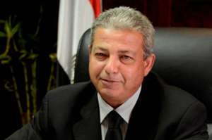 Khalid Abdul Aziz, Minister of Youth and Sports of the Egyptian