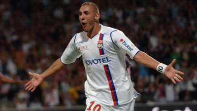 Karim Benzema Lyon